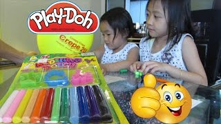 Learning Counting - Kids Toys Play Doh Modeling Dough Dragonfly Leaf Star @LifiaTubeHD OK