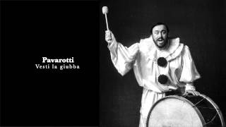 Luciano Pavarotti Vesti La Giubba