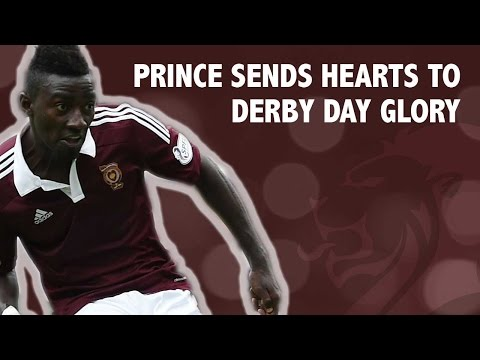 Prince sends Hearts to derby day glory