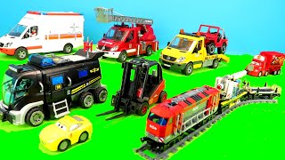 Lego Duplo, Fire Trucks, Tractor, Excavator, Train & Cars Play Toys for Kids
