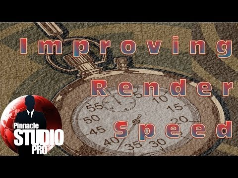 Pinnacle Studio Tip #1 - Best Render Settings Tutorial