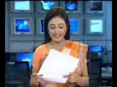 bd newsreader singing FUNNY