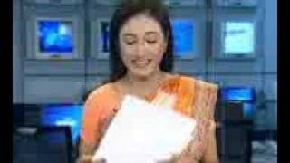 bd newsreader singing FUNNY