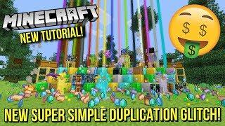 Minecraft Xbox/PS - NEW SUPER SIMPLE DUPLICATION GLITCH! - EASY/FAST - UNLIMITED DIAMONDS! - TU92