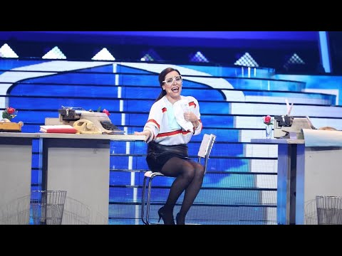Anabel Alonso imita a Daniela Romo en 'Pobre secretaria' - Tu Cara Me Suena