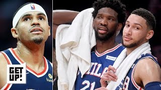 76ers trying to win the East after Tobias Harris blockbuster trade - Woj | Get Up!