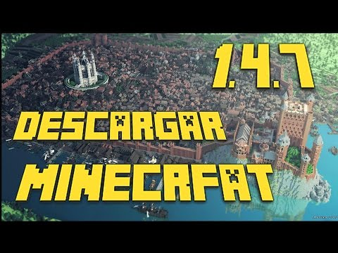 Descargar Minecraft Gratis 1.4.7 Full Completo [PC]