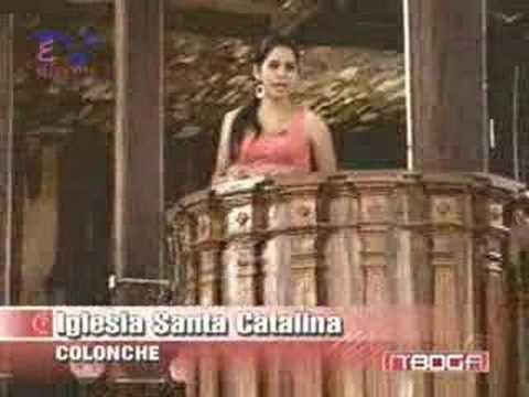 Iglesia Santa Catalina en Colonche
