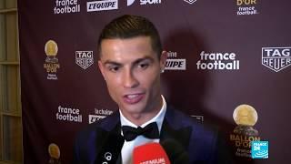 Football: Ronaldo wins fifth Ballon dOr award