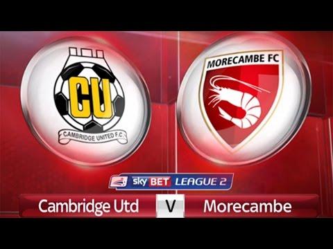 MY RETURN TO FOOTBALL | Cambridge United 7 - 0 Morecambe - VLOG