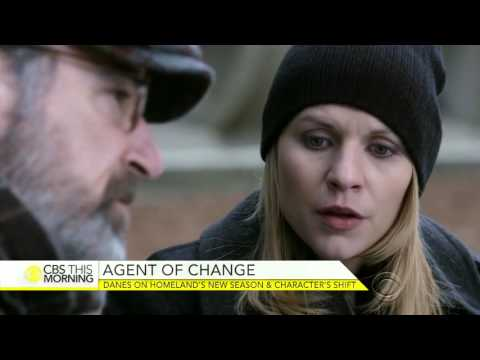 """Claire Danes on her character's shift in """"Homeland"""""""