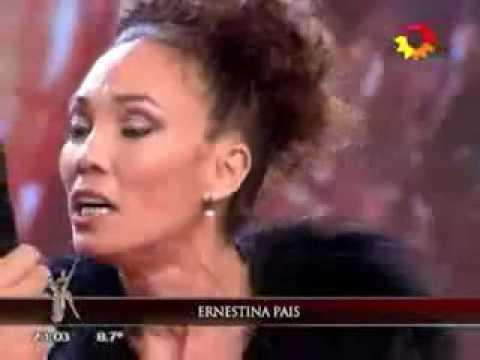Espectacular debut de Ernestina Pais en el Bailando