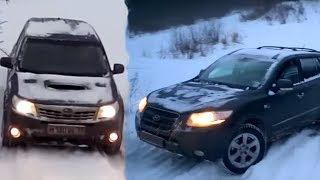 09.01.15, Test ESP, Forester & Santa Fe, Niva-Land