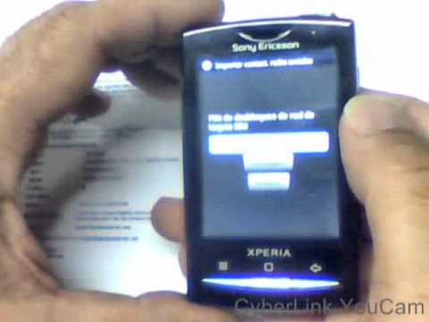 unlock sony ericsson j120 locked to movistar