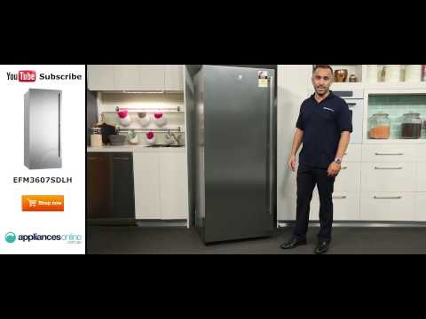 360L Electrolux Upright Freezer EFM3607SDLH Reviewed By Product Expert - Appliances Online