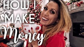 How I make Money from home - 4 ways to Lady Boss