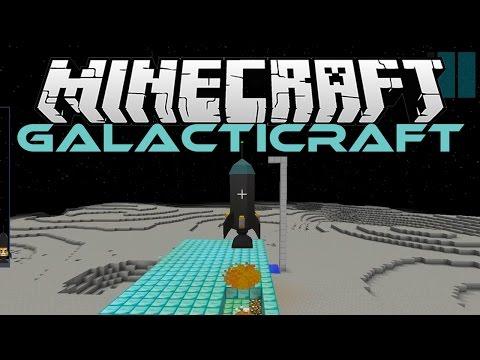 Minecraft - Race to the Moon (Galacticraft Mod Tour) PC