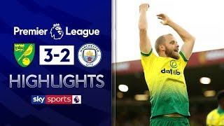 Norwich shock Man City! | Norwich City 3-2 Manchester City | Premier League Highlights