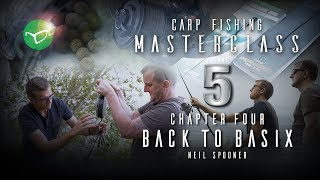 Korda Carp Fishing Masterclass 5: Back to Basics | Neil Spooner | Free DVD 2018