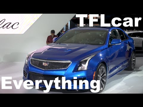 2016 Cadillac Ats-v: Almost Everything You Ever Wanted To Know video