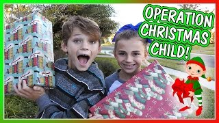 IT'S OPERATION CHRISTMAS! | WHO DO WE GIVE THESE GIFTS TO? | We Are The Davises