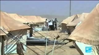 لبنان ـ خيم اللاجئين السورين في سهل البقاع