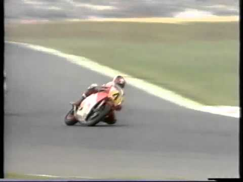 Live broadcast of the fatal crash of Norman Brown and Peter Huber, 500cc world championship.