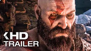 GOD OF WAR 4 Story Trailer German Deutsch (2018)