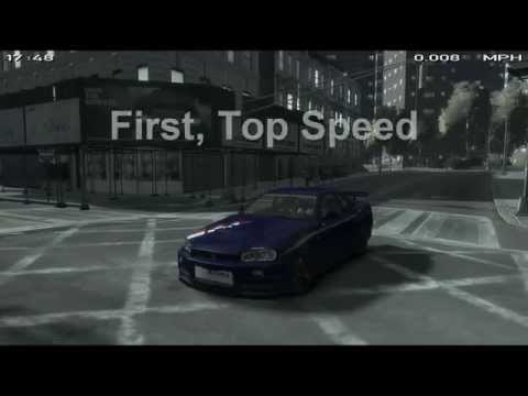 Grand Theft Auto IV Car Mod Review : Nissan Skyline R34 Nismo Z-Tune