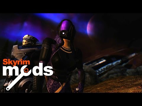 Mass Effect Crash Lands in Skyrim! - Top 5 Skyrim Mods of the Week