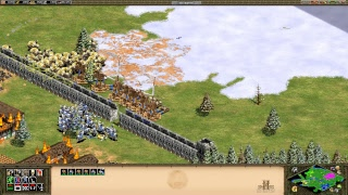 Age of empires 2 HD #1 | combate total | 1080p