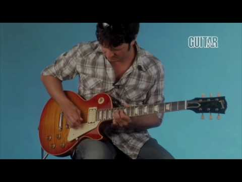Japanese Subtitled-Guitar World reviews the new DiMarzio PAF 36th Anniversary
