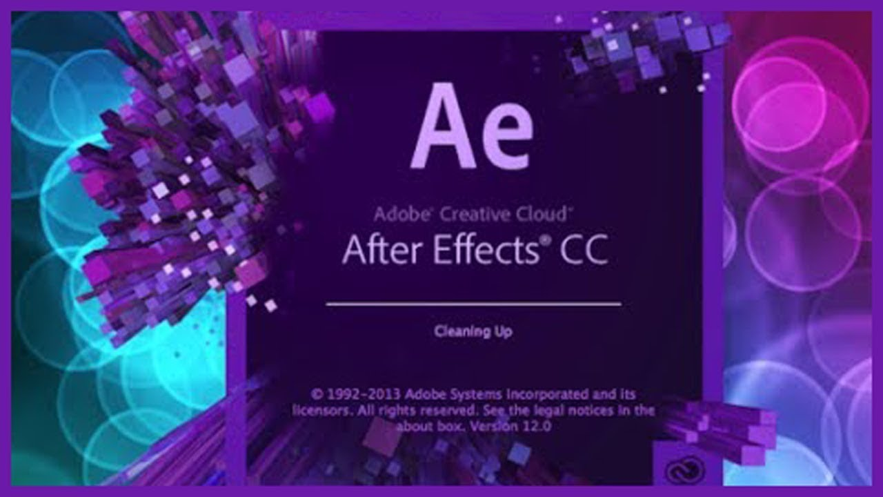 Как установить after effects 2018
