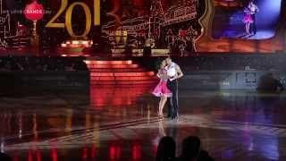 Stefano di Filippo and Dasha Chesnokova. Showcase. World Kremlin Cup 2013