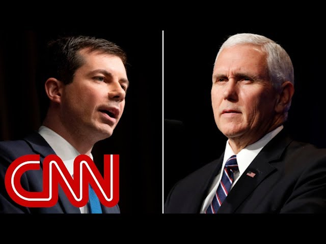 Buttigieg to Pence 39Your quarrel, sir, is with my creator39