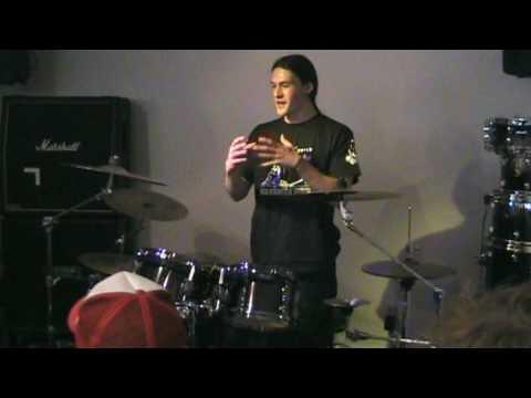 Krimh - Decapitated Drum and Guitar Clinic - Arhus