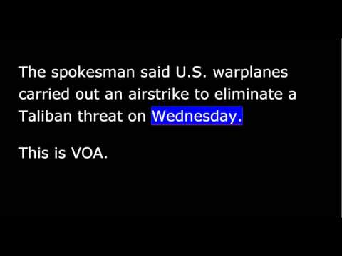 VOA news for October 1st, 2015
