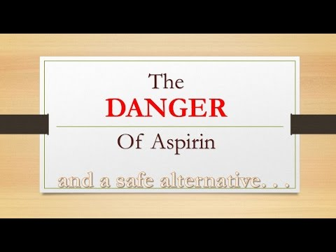 Aspirin vs Ginger for stroke, heart attack, headaches and pain