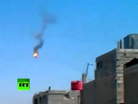 Derriban un helicóptero del régimen sirio