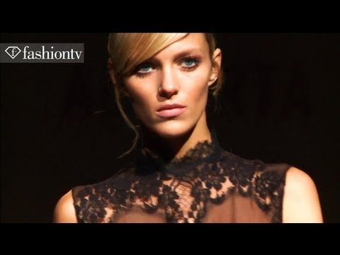 Models - Anja Rubik & Natasha Poly - 2011 Fashion Week | Fashiontv - Ftv video