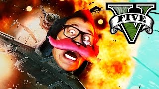 DYING LAUGHING | GTA 5 Funny Moments #3