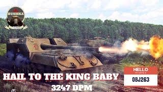 OBj263 World Of Tanks Blitz   How to be an Aggressive Monster