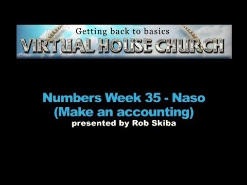 (2020) Virtual House Church - Bible Study Week 35: Naso