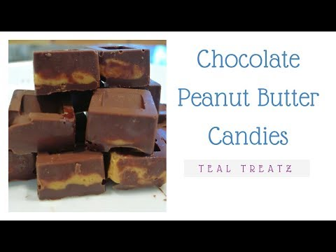 Teal Treatz | Chocolate Peanut Butter Candies