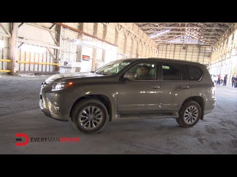 2014 Lexus GX460 Autocross Test Drive on Everyman Driver