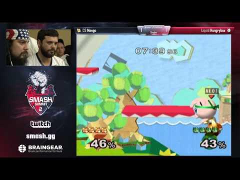 Mango vs Hungrybox - Singles WB Semis - Smash Summit 2