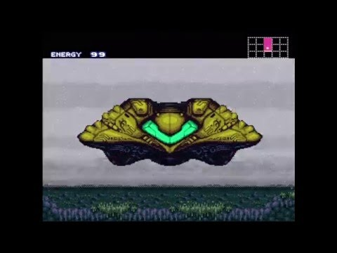 Wii U Virtual Console - Super Metroid (First 18 minutes)