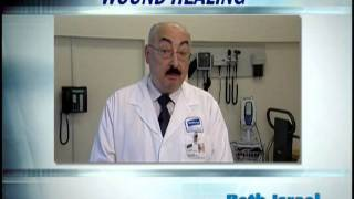 Chronic non-healing wounds. Dr. Michael Cioroiu, wound specialist at Beth Israel Medical Center.