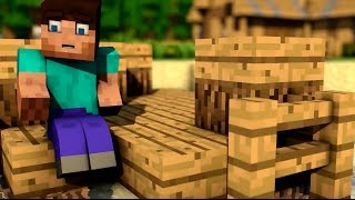 Стив и голод - Minecraft animation
