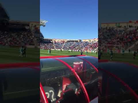 Chicago Fire vs Colorado Rapids game action 4/20/19